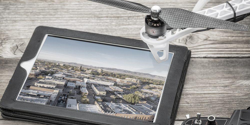 Luftaufnahme Multikopter